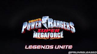 Power Rangers Super Megaforce - Unreleased Music: 17 Legends Unite