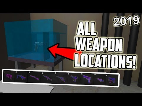 [ROBLOX] Survive And Kill The Killers In Area 51 All 9 Weapon Location! (2019)