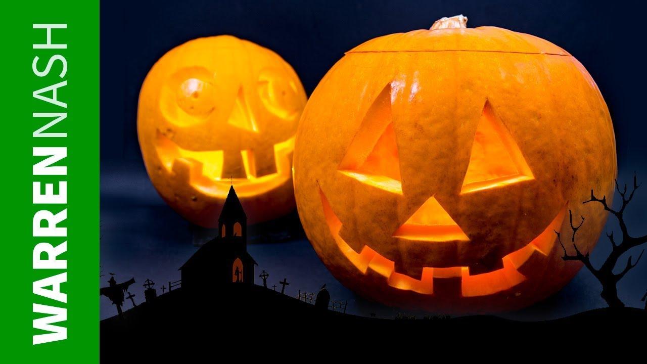 How to carve a pumpkin like a pro easy halloween diy by warren