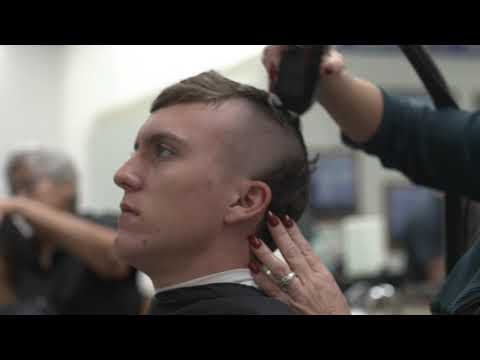 The Hardest Day In The Life Of US Air Force Recruits! Receiving Military Haircuts!