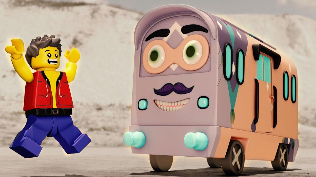 The Naughty Train 🤖- Funny Train cartoon video - Choo choo train kids videos