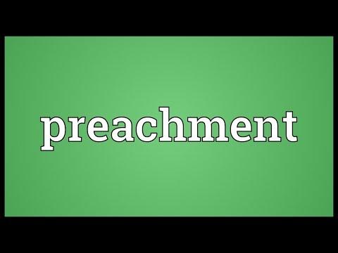 Header of preachment