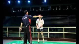 羽毛球教学 专家把脉【10】跳起杀球 反手推球