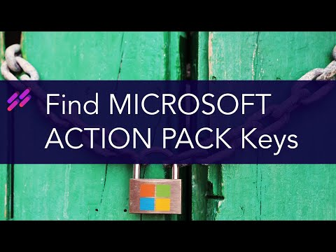 How to find Microsoft Action Pack product keys and how to activate Windows 10