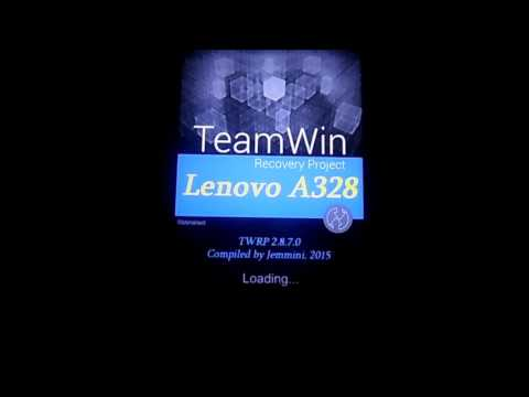 Lenovo A328 (install TWRP and Root with Flashify)