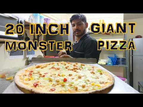 Great News For Pizza Lovers | 20 Inch Giant Monster Pizza | Basilia | Wakad | Pune