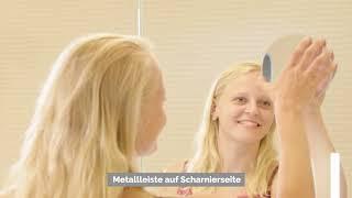Camargue Stella Led Spiegelschrank B X H 100 X 73 6 Cm Mit Beleuchtung Mit Abgerundeten Kanten Spanplatte Weiss Bauhaus