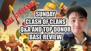 Sunday live show 7pm to 7.30pm Singapore time 15 Sep 2013 Clash of Clans