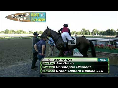 video thumbnail for MONMOUTH PARK 07-31-20 RACE 5