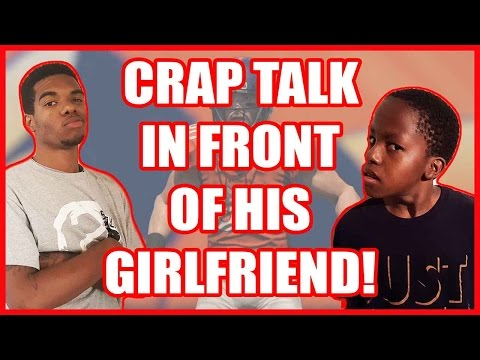 CRAP TALKIN IN FRONT OF HIS GIRLFRIEND!! - MADDEN 16 PS4 GAMEPLAY