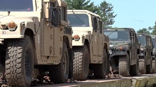 MN National Guard Conducts Largest Ever Rail Movement Of Equipment