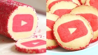 Youtube Cookies Slice & Bake! 유튜브쿠키