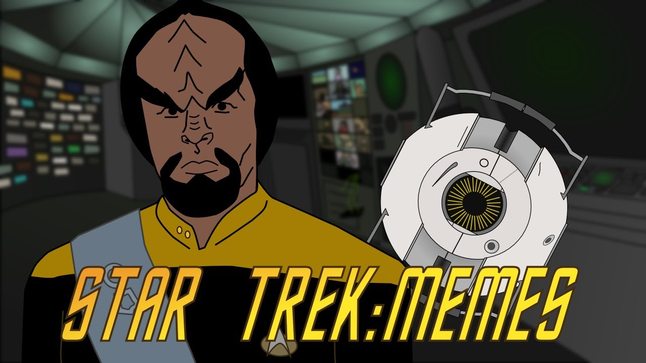 Star Trek Tng Animated Part 2  Space Core - Youtube-3511