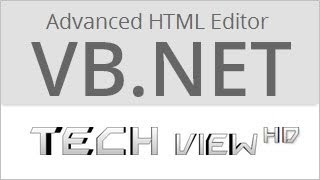 How to make an Advanced HTML Editor in VB.NET