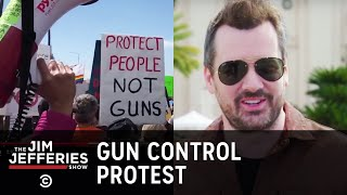 Jim Attends March For Our Lives in San Diego - The Jim Jefferies Show - Uncensored