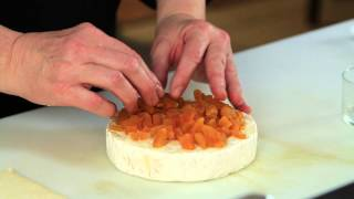 Baked Brie With Chopped Apricots : Comfort Food