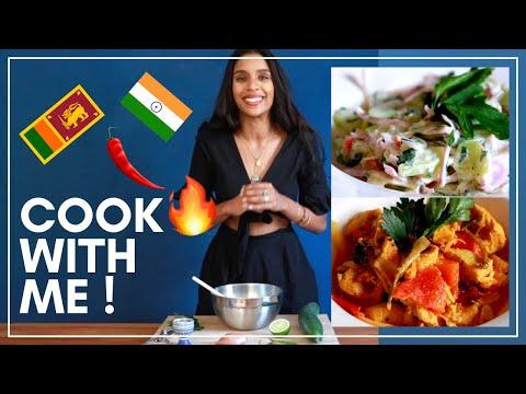 🔥3-recettes-faciles-indiennes-&-sri-lankaises-🔥curry-de-poulet,-raÏta-et-riz-traditionnel