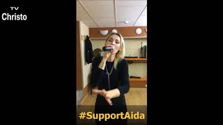INCREDIBLE VOICE ! Aida Nikolaychuk - Nov. 24 (2017) 1st song -