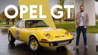 Opel GT: бюджетное спорткупе из 1960-х