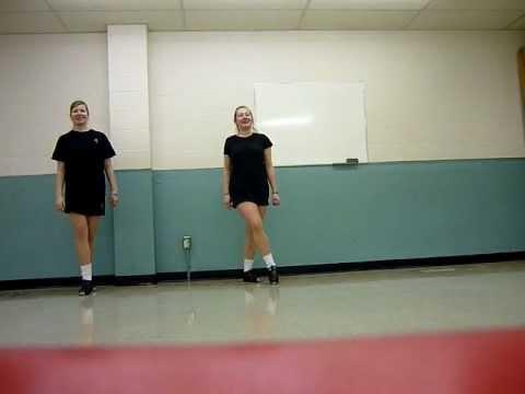 Treble Reel Irish Dance Step