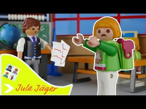 Playmobil Film deutsch - Prüfungsangst - Kinderfilm mit Jule Jäger