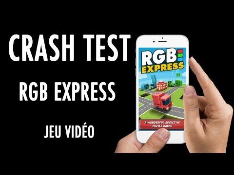 Crash Test - Un puzzle game avec des camions : RGB Express (Jeu Vidéo)