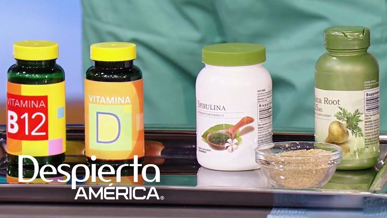 vitaminas energéticas para hombres