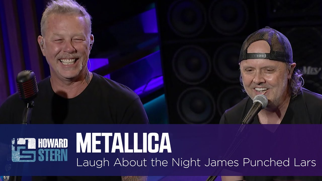 Metallica Laughs About the Night James Hetfield Punched Lars Ulrich