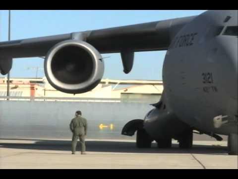 Edwards Air Force Base Alternative Fuels Flight