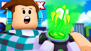ROBLOX-BEN 10 SIMULATOR WITH OMNITRIX ALIENS! -(Ben 10 Tycoon)
