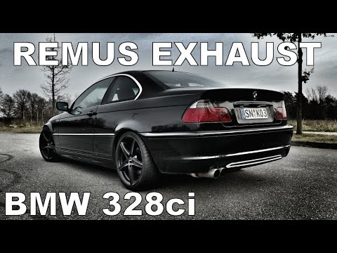 bmw 328ci e46 remus sportauspuff exhaust r6 engine sounds. Black Bedroom Furniture Sets. Home Design Ideas