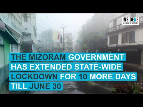 Mizoram extends state wide lockdown till June 30; lifted a few restrictions