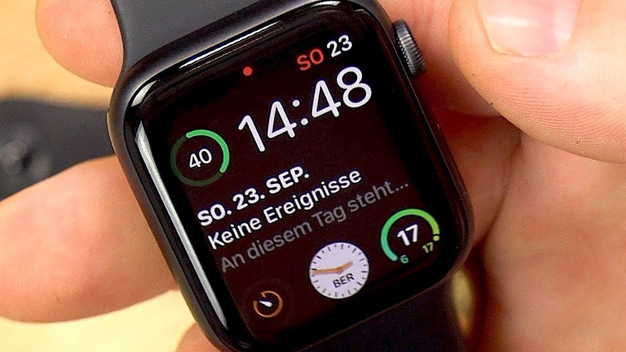 Apple Watch Series 4 44mm Test Fazit Nach 48h Deutsch Youtube
