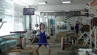Ксенофонтов Матвей, 13 лет, вк 34 Атака в  рывке на 36 кг