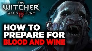How to Prepare Yourself for Witcher