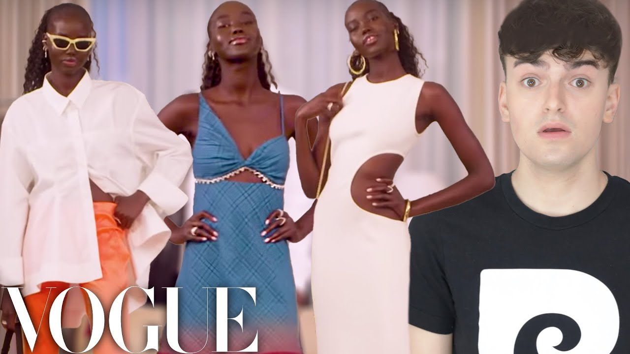 Reacting to Adut Akech's Outfits of the Week