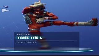 Take The L - Fortnite Battle Royale (Emote)