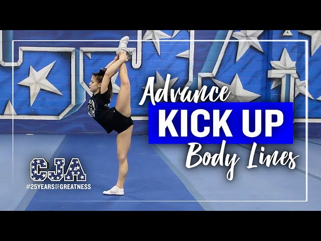 Advance Kick Up Body Lines | Flyer Flexibility | CJA At Home Training