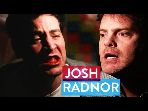 Rainn Wilson beats up Josh Radnor  Metaphysical Milkshake