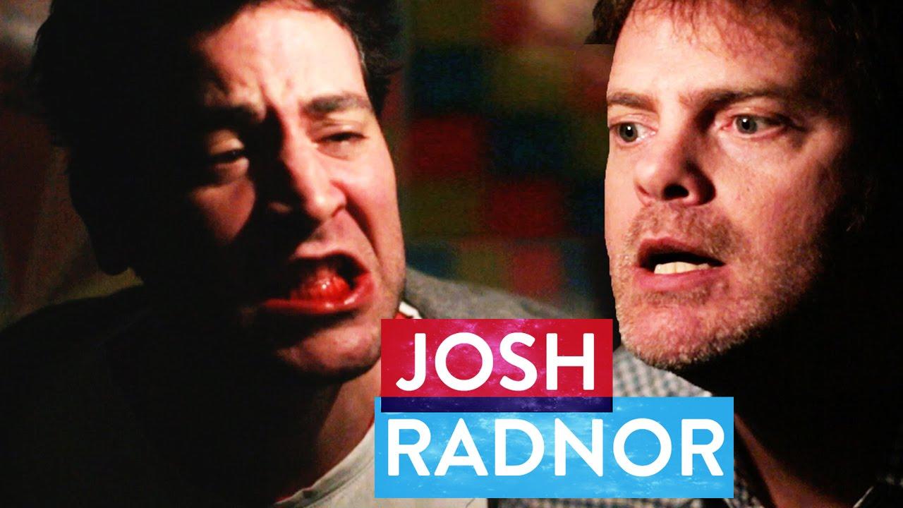 Rainn Wilson beats up Josh Radnor | Metaphysical Milkshake