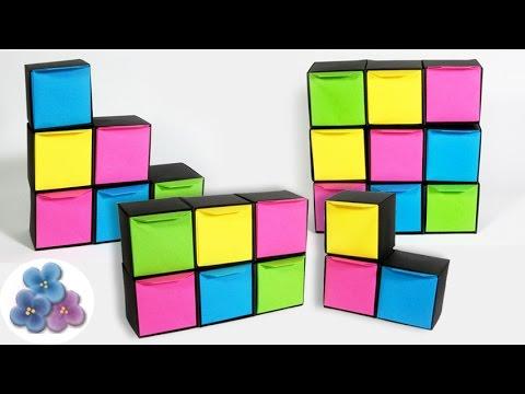 Paper Jewelry Organizer DIY - Origami Accessory Storage Hacks गहने आयोजक Mathie