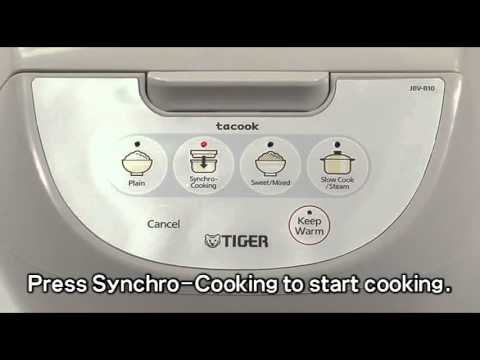 Tiger JBV Series Computerize Rice Cooker