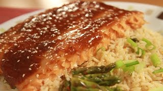 Baked Teriyaki Salmon Recipe - Deb's Culinary Adventure