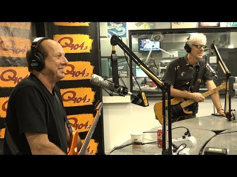 Stewart Copeland and Adrian Belew Talk Gizmodrome, Perform a Live Song