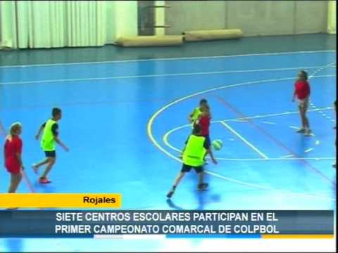 Rojales: Siete centros escolares participan en el primer Campeonato Comarcal de Colpbol