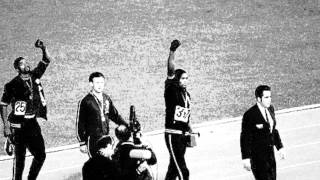 audio history - John Carlos and the 1968 Olympics