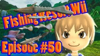 Fishing Resort Wii - Episode 50 - Completing Panas Jungle and get the Prehistoric Legend from Malam
