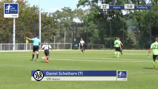 A-Junioren - VfR Aalen vs. SGV Freiberg Fussball 1:0 - Daniel Schelhorn