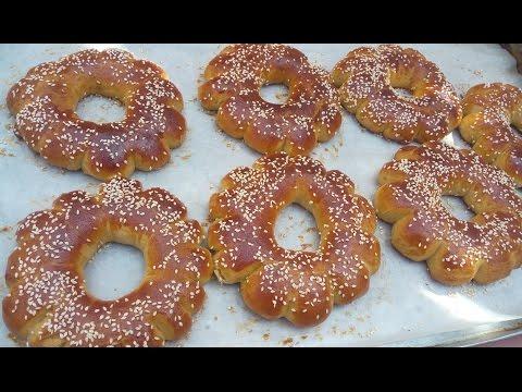 جديد لكعك التقليدي الخامر هش وألذ من الكرص
