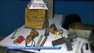 Homem é preso fabricando submetralhadoras em Minas Gerais thumbnail